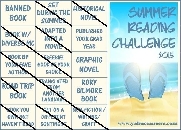 YAB Reading Challenge 2015